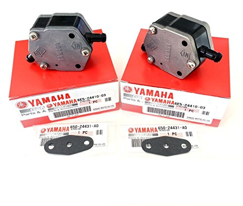YAMAHA OEM OUTBOARD FUEL PUMP & GASKET ASSY (2PACK) 115 150 175 200 225 250 - Pump Assy Fuel