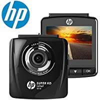 HP Dash Cam for Cars FHD 1296P 2.4 Dashboard Car Camera DVD Recorder with Super Night Vision,Motion Detection ,G-Sensor, Parking Mode,Loop Recording,WDR