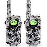 Walkie Talkies for Kids, Toys for 3-12 Year Old Boys 2 Way Radio 3 Mile Long Range Kids Toys and Kids Walkie Talkies, Best Gifts and Top Toys for Boy and Girls Age 3 4 5 6 7 8 9 for Outdoor Adventure