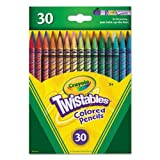 Crayola Twistables Colored Pencils, 30 Count