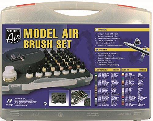 Vallejo Model Air aeró grafo Set con colores militar Acylicos Vallejo VAL71173