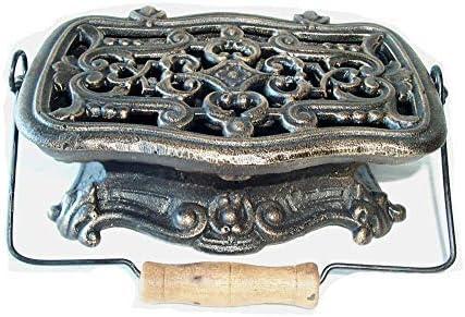 Vintage calientaplatos, hornillo de hierro fundido, calientaplatos, calentador Grillgut
