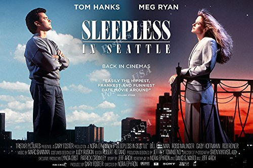 Posters USA - Tom Hanks Meg Ryan Sleepless In Seattle Movie Poster GLOSSY FINISH - FIL163 (24