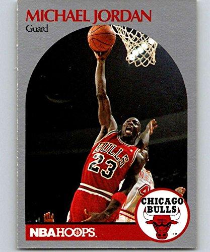 1990-91 Hoops #65 Michael Jordan Bulls NBA Basketball