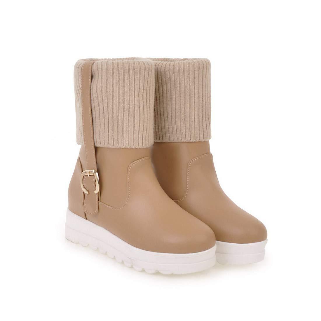 Stiefel-DEDE Flache Schuhe für Damenwilde Stiefel für Winterschüler