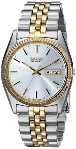 Seiko Men's SGF204 Stainless Steel Two-Tone Watch by Seiko Watches