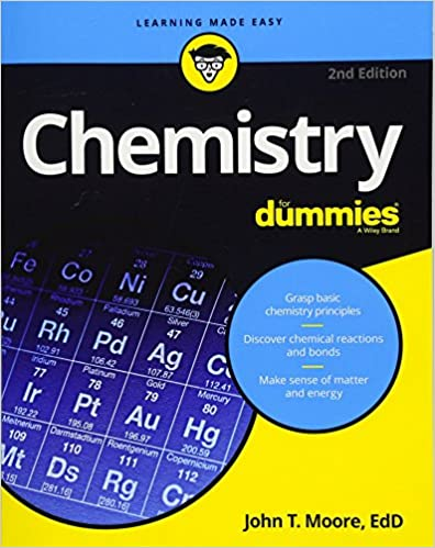 Chemistry For Dummies Math Science 2nd Edition