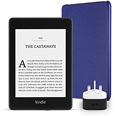 Kindle Paperwhite Essentials Bundle including Kindle Paperwhite  GB  w...