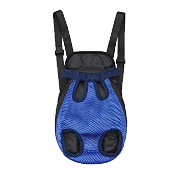 Nylon Mesh Pet Puppy Dog Cat Carrier Backpack Front Net Bag Tote Sling Carrier