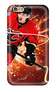 Brand New 6 Defender Case For Iphone (calgary Flames (26) )