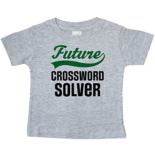 inktastic - Future Crossword Puzzle Baby T-Shirt 12 Months Heather Grey 30f94 ()