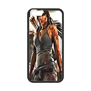 Diy Phone Cover Tomb Raider Lara Croft for iPhone 6,6S 4.7 Inch WEQ429815