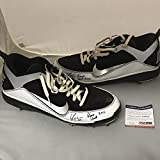 Autographed/Signed Yonder Alonso 2012 Game Used Pair Baseball Cleats Shoes PSA/DNA COA