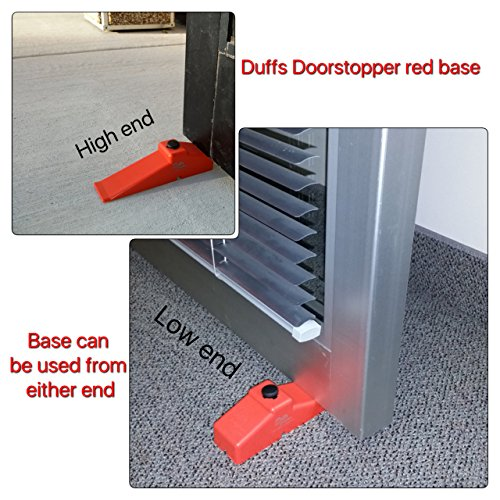 Duffs 2 Pack bases II door stops by Duffs Doorstopper