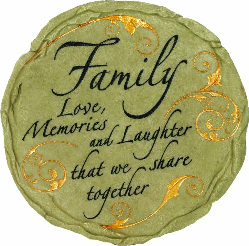 Spoontiques Family Stepping Stone