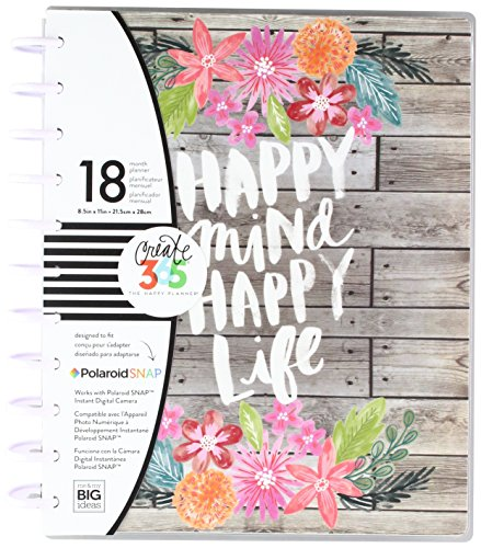 me & my BIG ideas Create 365 The Big Happy Planner, Happy Mind, Happy Life 2018