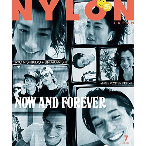 NYLON JAPAN 2020年7月号 表紙画像