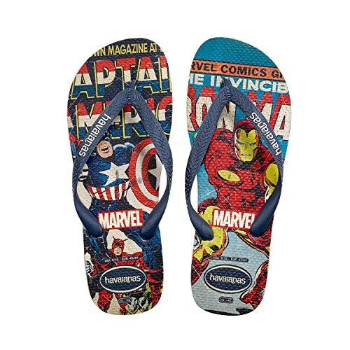 Chancleta Havaianas Hombres Marvel Sandal (45 Br / 13 D (m), Biege)