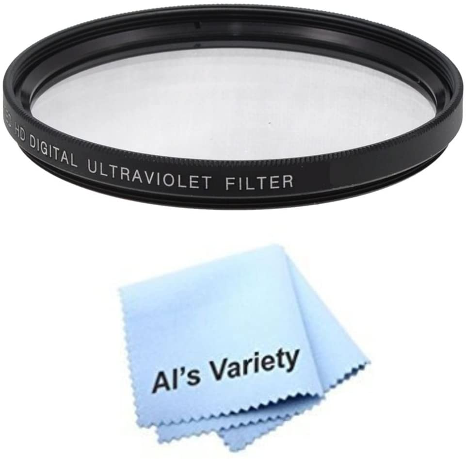 67mm High Resolution Clear Digital UV Filter with Multi-Resistant Coating for Sony E-Mount 18-200mm f//3.5-6.3 Microfiber Cleaning Cloth