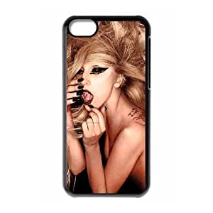 C-EUR Print Lady Gaga Pattern Hard Case for iPhone 5C hjbrhga1544