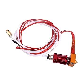 Impresora 3D Hotend Kit CR10 Boquilla de extrusión del Cabezal de ...