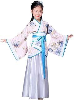 KINDOYO Hanfu Cinese - Costume da Ragazza Tradizionale di Abbigliamento da Principessa Vintage