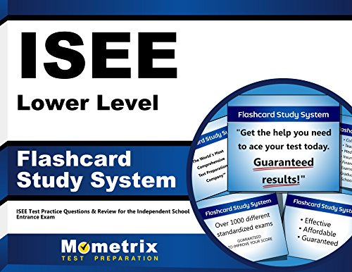 ISEE Lower Level Flashcard Study System: ISEE Test Practice Questions & Review for the Independent School Entrance Exam (Cards)