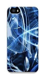 Case For Sam Sung Galaxy S4 Mini Cover Blue Abstract Art 3D Custom Case For Sam Sung Galaxy S4 Mini Cover