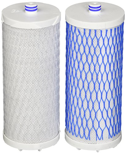 Aquasana Replacement Filter Cartridges for Aquasana Countertop Water Filtration System Countertop Double Stage Filter