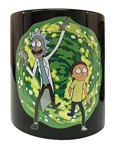 Rick And Morty Portal Heat Reactive Coffee Mug