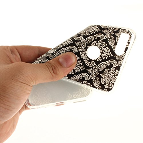 Téléphone Scratch Peint Couverture De Protection Arrière 5X Motif Xiaomi Bord Transparent art Résistant Slim De TPU Hozor Souple En Cas Antichoc Mi Silicone Fit Retro Cas 1XvHnxZq
