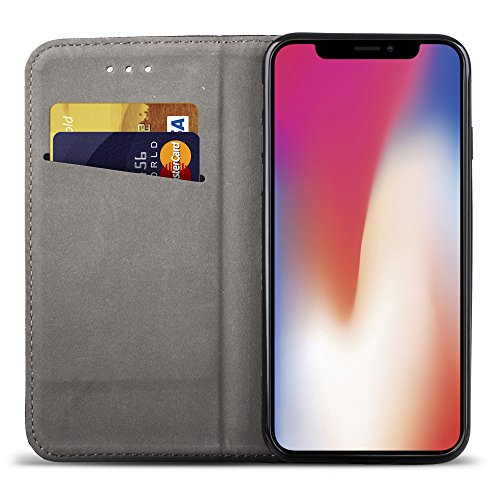 custodia a libro per iphone x