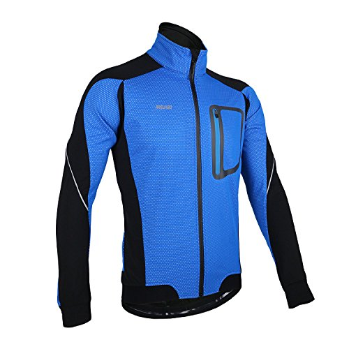 Bazaar Arsuxeo sport vêtements de cyclisme vélo vélo polaire maillot manches longues vêtements