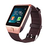 BSWHW Smart Watch Sport Band Fitness Watch with Touch Screen for Android Device, Sleep Quality Monitor, Call Reminder for Smartphones, Samsung, HTC, Sony, LG - Rose Golden