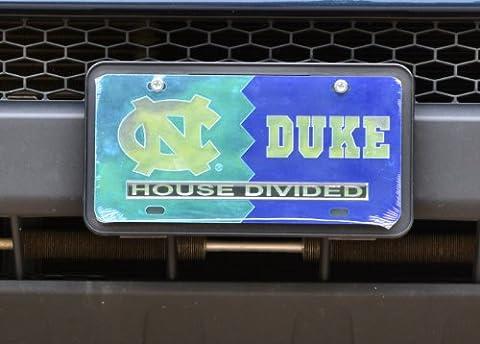 UNC/ Duke House Divided Laser Cut Car (Unc House Divided)