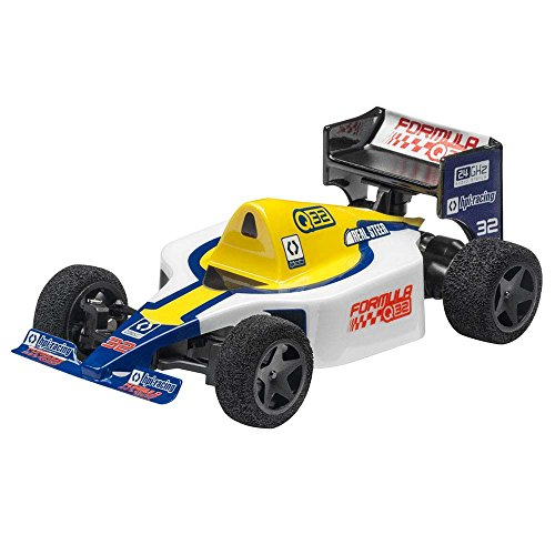 HPI 116706 Q32 Formula 1 Rtr Electric RC Car with 2.4GHz Radio Transmitter, Blue, 1:32 Scale