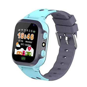 Amazon.com: Goglor Kids Smartwatch with GPS Tracker,Smart ...