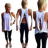 Lookatool Women Summer Vest Top Sleeveless Blouse Casual Tank Tops T-Shirt