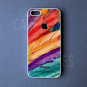 Iphone 5c Case - Colorful Feathers Iphone 5c Cover