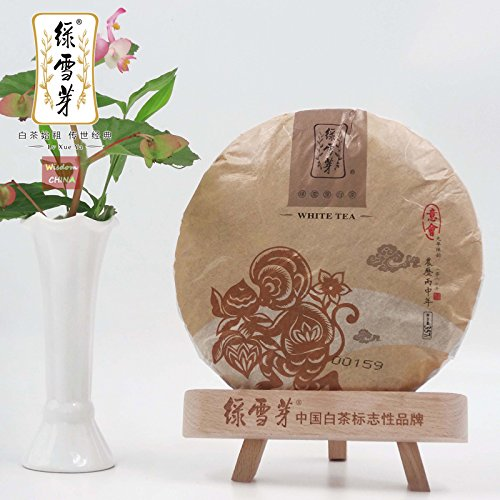 2016 ''Yihui'' 9-years Aged Shoumei Lvxueya Chinese Fuding Baicha White Tea 357g by Lv Xue Ya White Tea+Wisdom China
