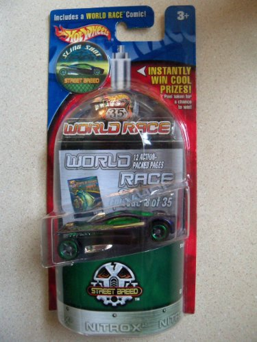 Hot Wheels World Race Street Breed: Sling Shot (Street Sling)