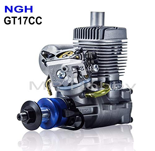 Kamas NGH Gasoline Engines 2 Stroke NGH GT17cc Gasoline Petrol Engines for RC Airplane Multicopter Drone Motor