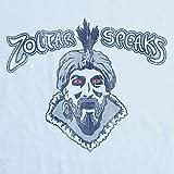 Mens T Shirt - Zoltar Speaks - Light Blue - Medium