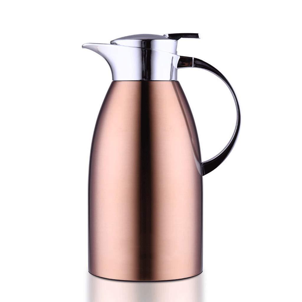 FYCZ 2L Vakuum Krug, 304 Edelstahl Doppelwand Vakuumisolierte Kaffeekanne Kaffee Kolben Saft Milch Tee Isolierung 68Oz