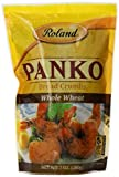 Roland Panko Bread Crumbs, Whole Wheat, 7 Ounce (Pack of 6) by Roland