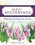 img - for New Beginnings: Lessons on New Mercies and God's Goodness (Hello Mornings Bible Studies) (Volume 1) book / textbook / text book