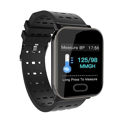 Xyhjd Relojes Inteligentes de Bluetooth Ritmo cardíaco dinámico con Control de Salud Reloj de Fitness Espera