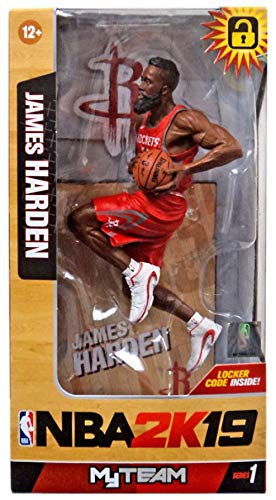 957d9514ec6 Image Unavailable. Image not available for. Color  McFarlane NBA 2K19  Series 1 James Harden ...