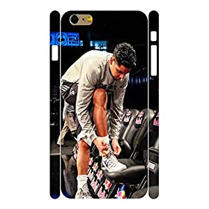 Premium Basketball Player Series Handmade Phone Shell Skin for Iphone 6 Plus Case - 5.5 Inch