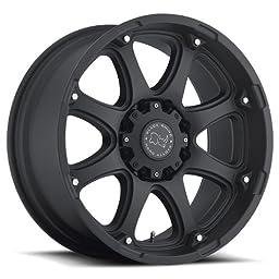 BLACK RHINO GLAMIS 17x9.0 6/135 ET12 CB87.1 MATTE BLACK
